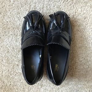 Black Mossimo Chunky Heeled Loafers